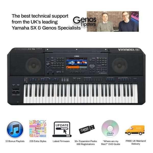 Used Yamaha PSR-SX900 Workstation Keyboard