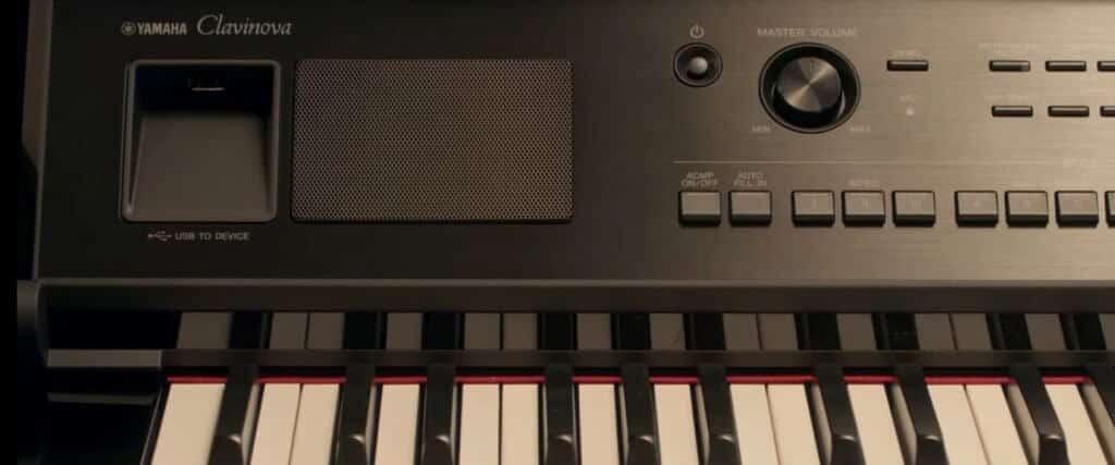 Yamaha CVP809 panel