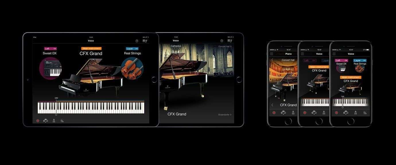 Apps compatible with Yamaha CVP805 and CVP809