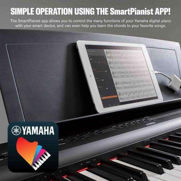 Yamaha P125 (P-125) Smart Pianist