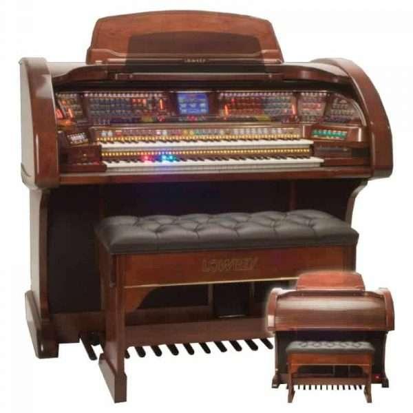 Used Lowrey Prestige Organ In Mahogany Finish