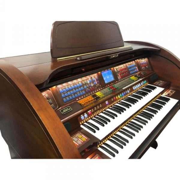 Used Lowrey Stardust Organ In Oak Finish