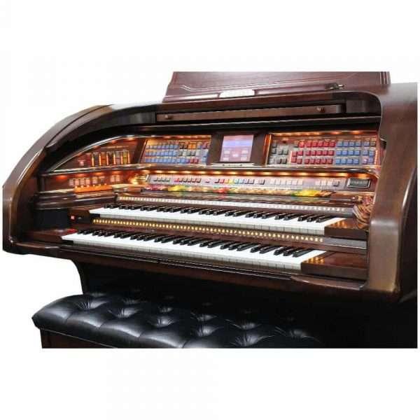 Used Lowrey Stardust Organ In Mahogany Finish