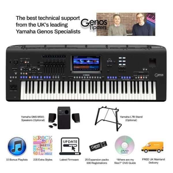 Yamaha Genos 76 Note Workstation