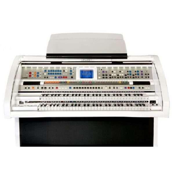 Used Lowrey Rialto Organ In White