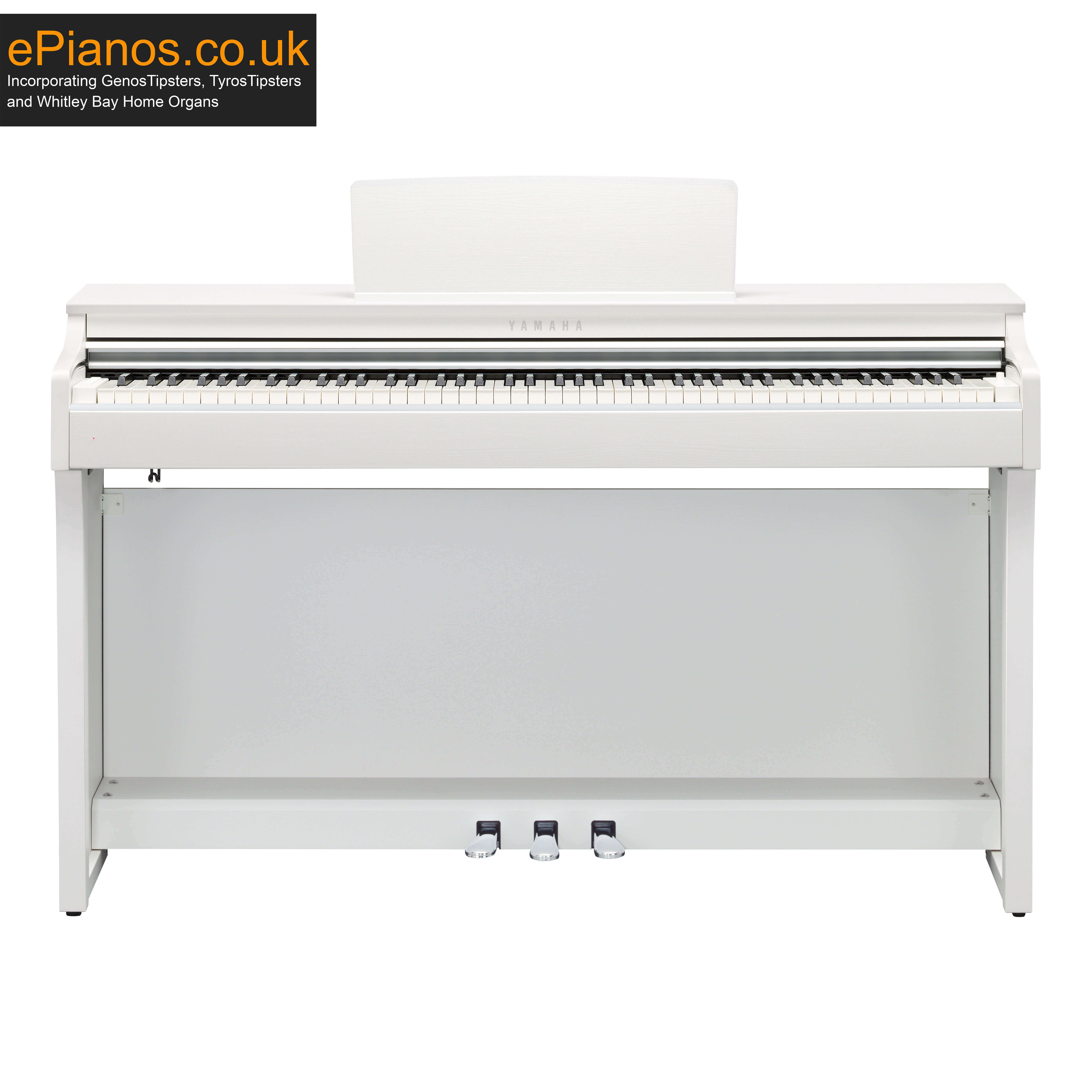 Yamaha Clavinova CLP625 White Digital Piano
