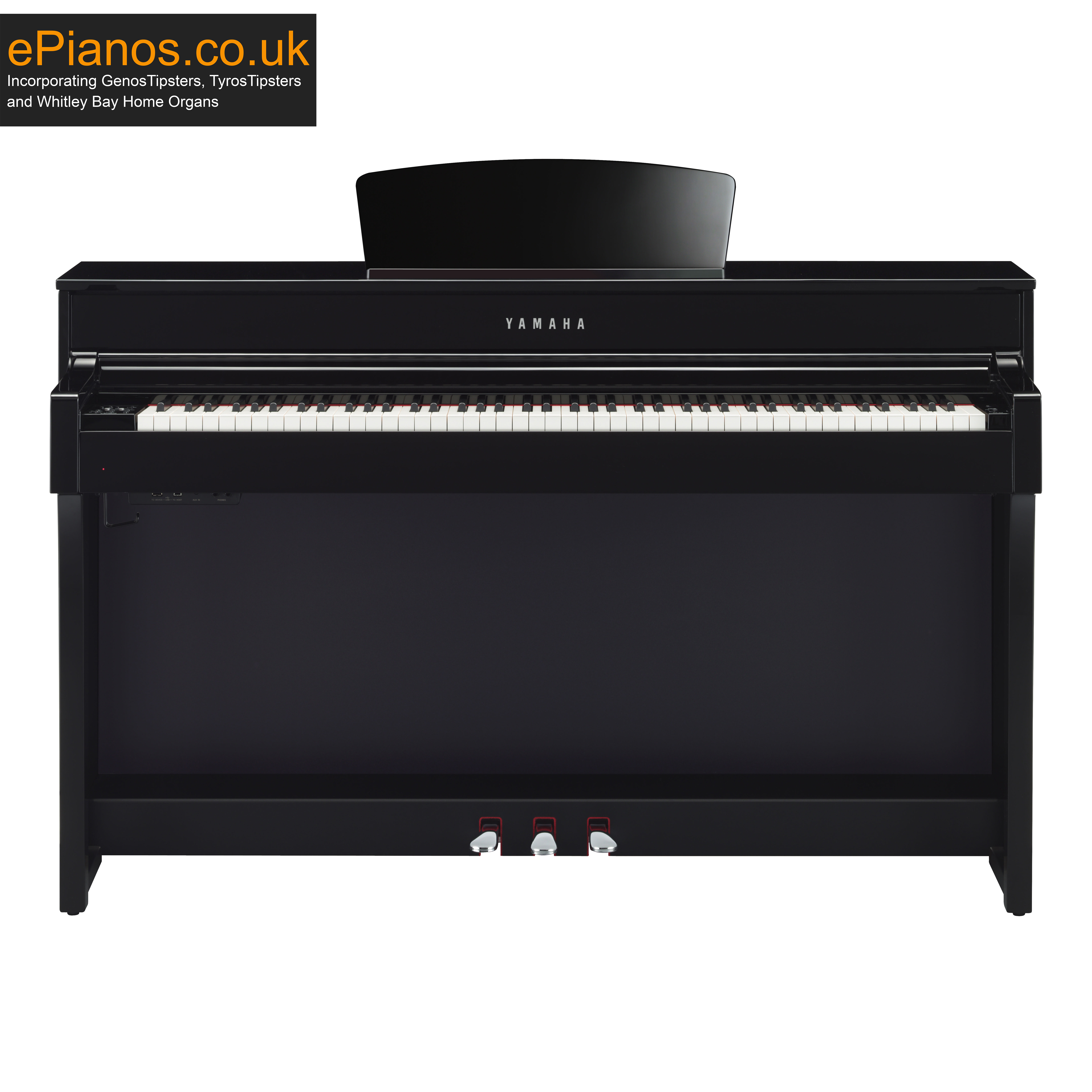 Yamaha Clavinova CLP635 in Polished Ebony