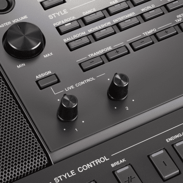 Yamaha SX700 Panel