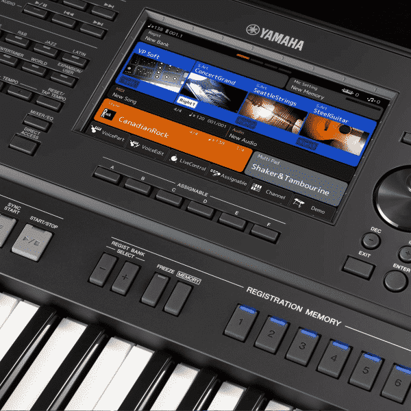 SX-700 Screen
