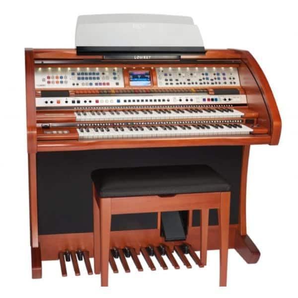 Used Lowrey Rialto Organ In Wood Finish