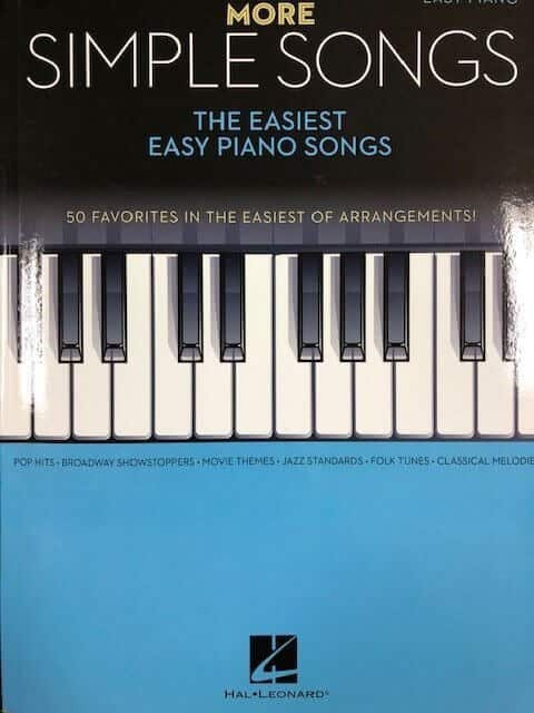More Simple Songs - Easy Piano