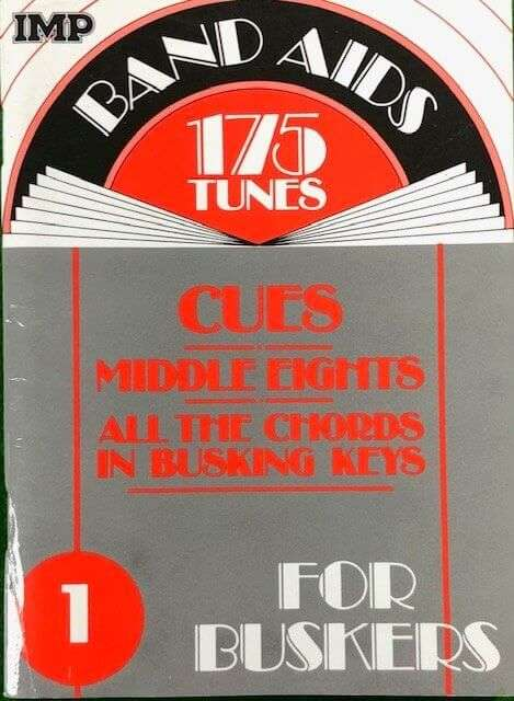 Band Aids 175 Tunes - Cues, Middle Eights,  All the Chords in Busking Key