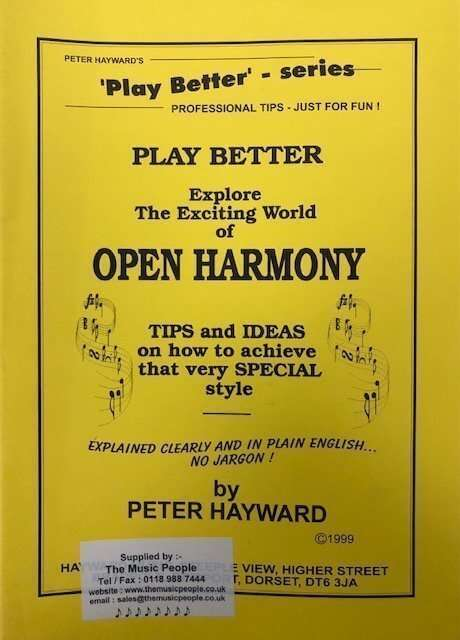 Play Better - Explore The Exciting World of Open Harmony - Organ