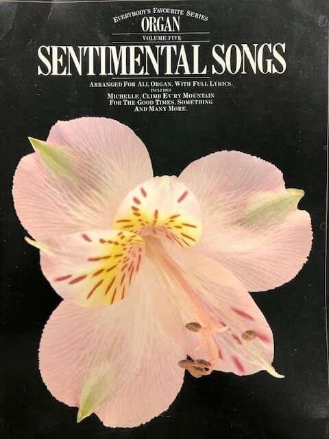 Sentimental Songs Volume 5 - Organ