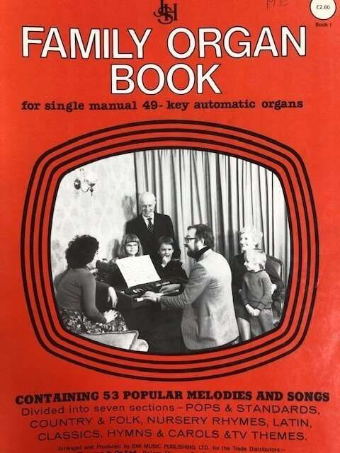 Family Organ Book for Single Manual 49 Key Automatic Organs - Book I