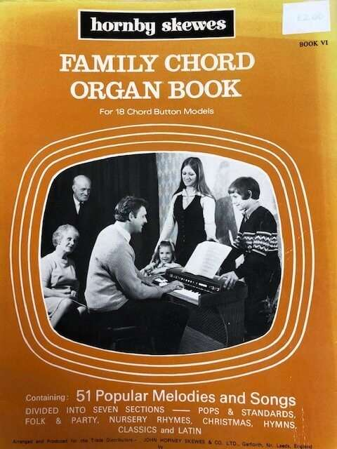 Family Organ Book for 18 Chord Button Models - Book VI