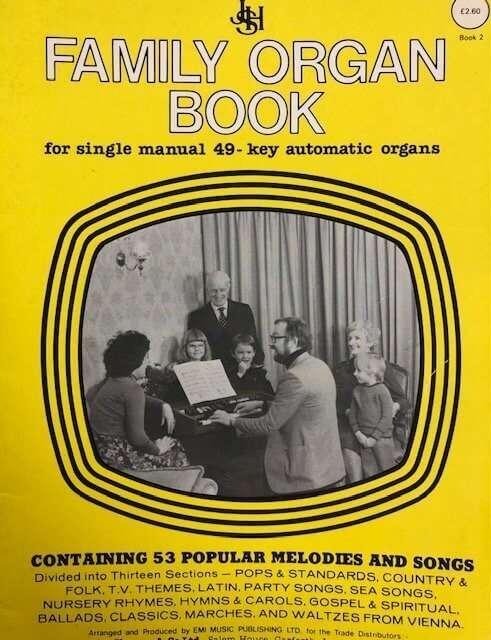 Family Organ Book for Single Manual 49 Key Automatic Organs - Book 2