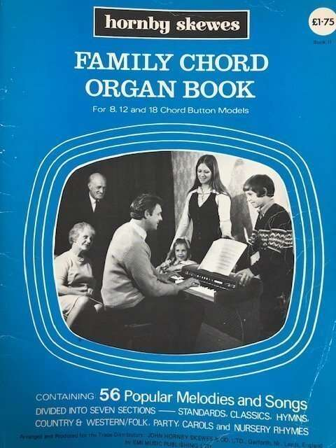 Family Chord Organ Book for 8,12 and 18 Chord Button Models - Book II