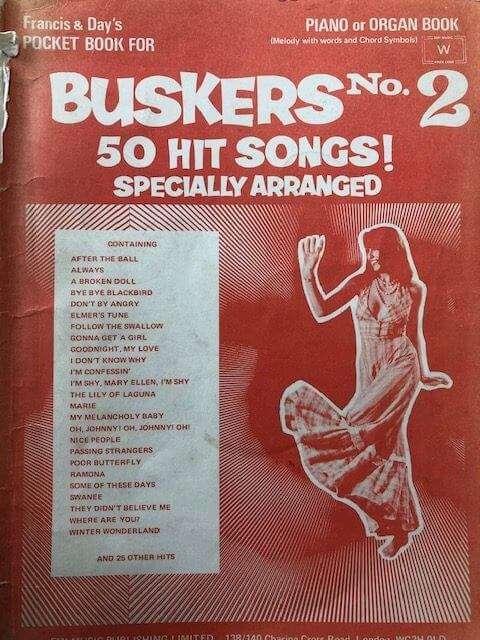Buskers No. 2 50 Hit Songs! - Piano/Organ/Guitar