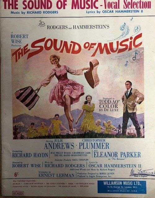 The Sound of Music - Piano/Vocal