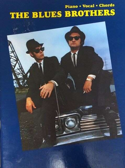 The Blues Brothers - Piano/Vocal/Guitar