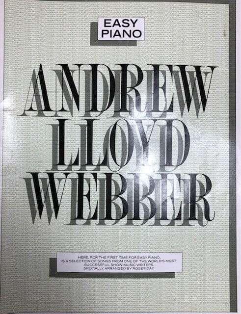 Andrew Lloyd Webber - Easy Piano