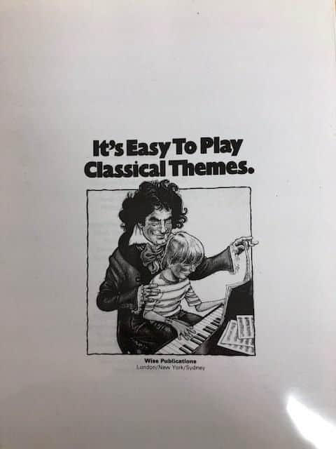 It's Easy To Play Classical Themes - Piano (reprinted)