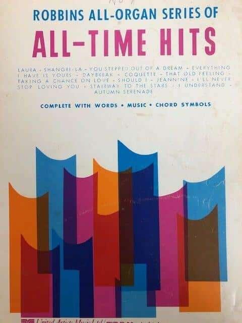 All-Time Hits - Robbins All Organ Series