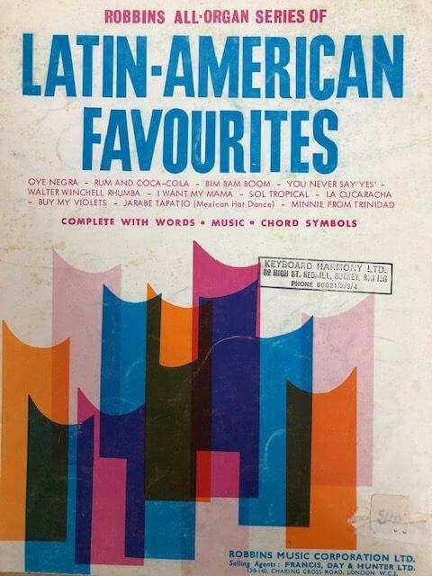 Latin American Favourites - Robbins All Organ Series