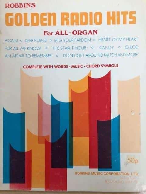 Golden Radio Hits - Robbins All Organ Series