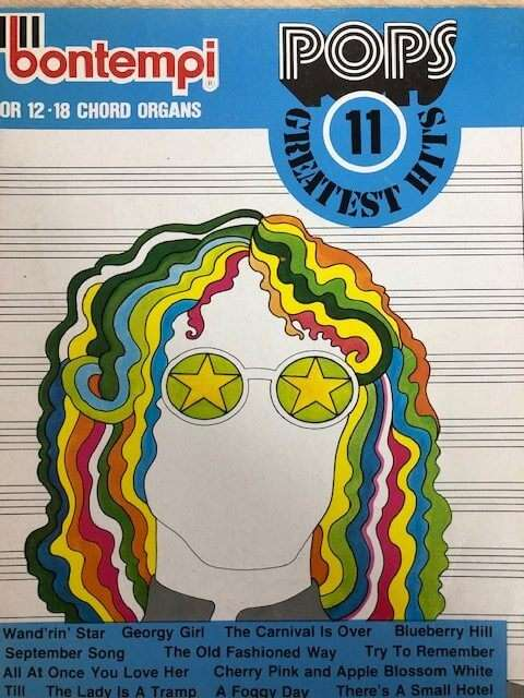 Bontempi Favourites 11 Greatest Hits - for 12/18 Chord Organ