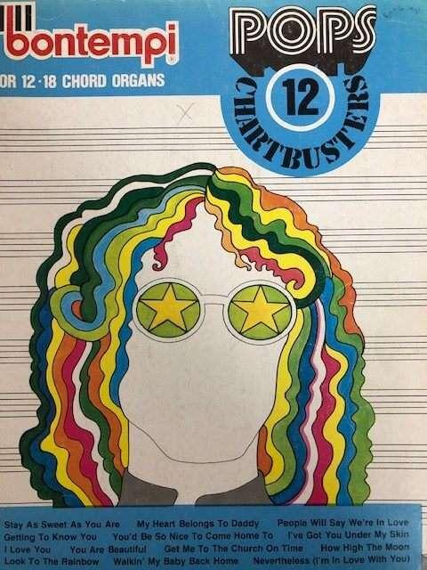 Bontempi Favourites 12 Chartbusters - for 12/18 Chord Organ