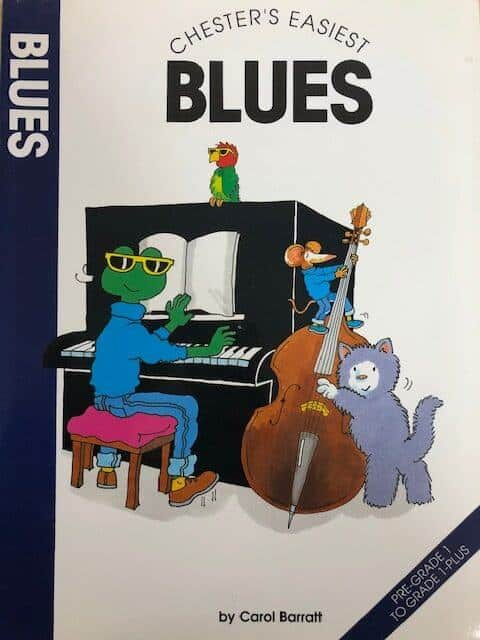 Chester's Easiest Blues - Piano Pre Grade 1