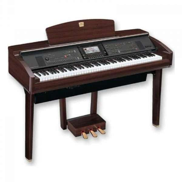 Used Yamaha CVP309 Digital Piano in Polished Mahogany