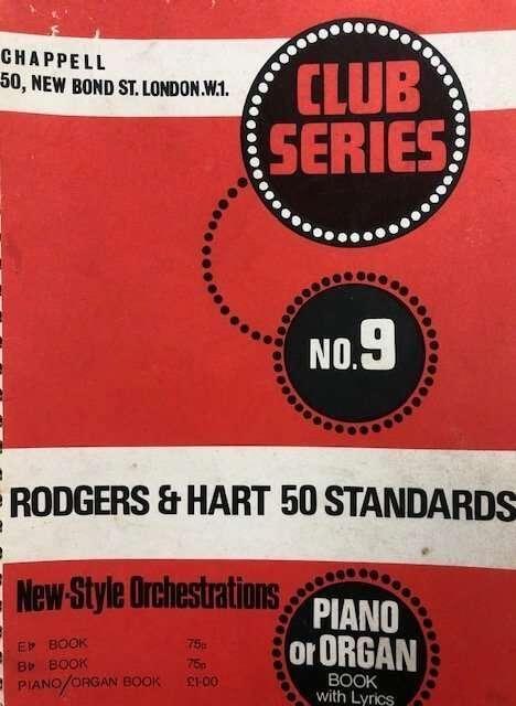 Club Series No. 9 - Rodgers & Hart 50 Standards - Piano/Organ/Lyrics