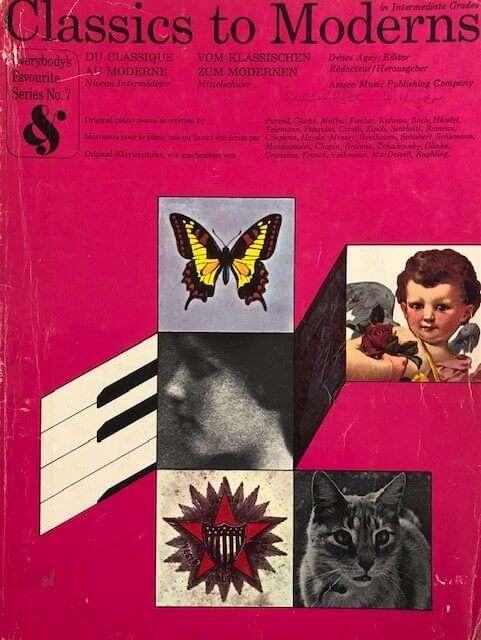 Classics to Modern in Intermediate Grades - Piano