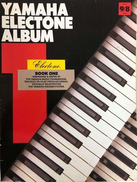 Yamaha Electone Album Book 1 - Organ