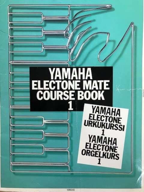 Yamaha Electone Mate Course Book 1