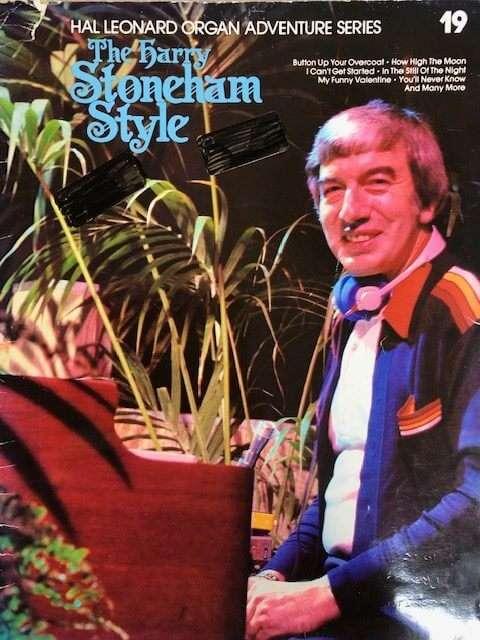 Hal Leonard Organ Adventure Series 19 - The Harry Stoneham Style