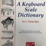 A Keyboard Scale Dictionary - Piano