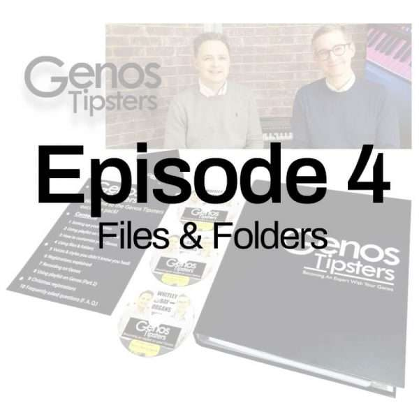 Genos Tipsters Information Pack | Episode 4: Using Files & Folders