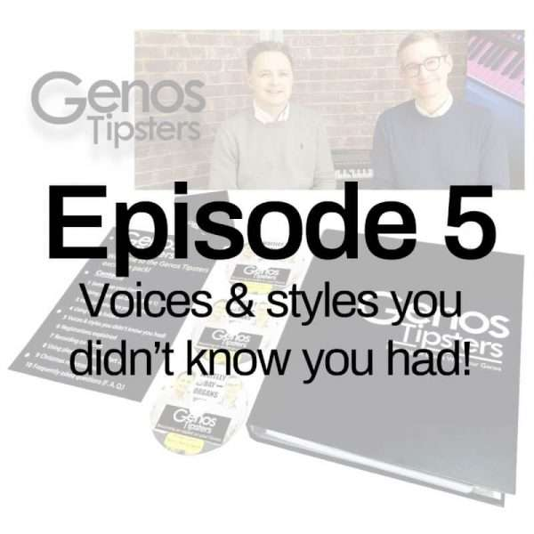 Genos Tipsters Information Pack | Episode 5: Voices & styles you didn't know you had!