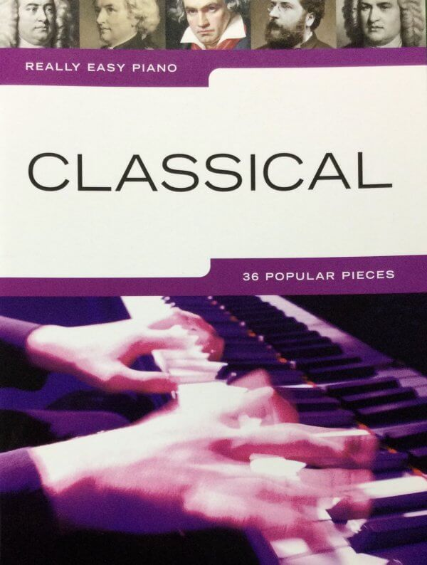 Classical 36 Popular Pieces - Really Easy Piano