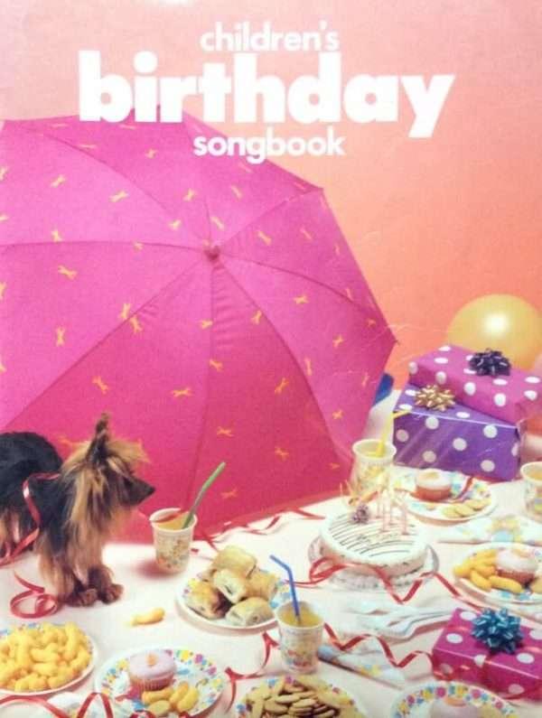 Children's Birthday Songbook - Piano