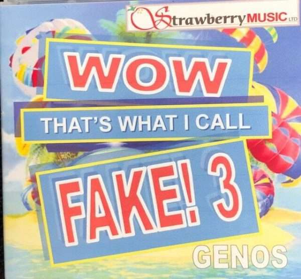 Wow That's What I Call Fake! 3 USB - Genos - Strawberry Music