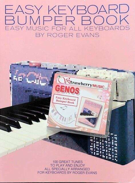 Easy Keyboard Bumper Book USB with Book - Genos - Strawberry Music
