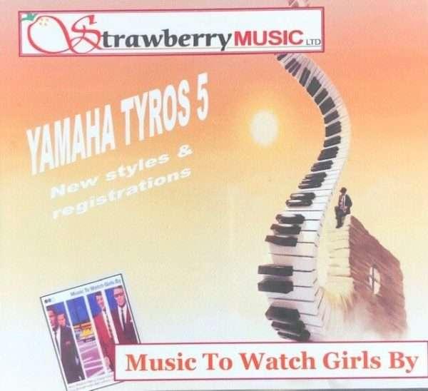 Music To Watch Girls By USB - Tyros 5 - Strawberry Music