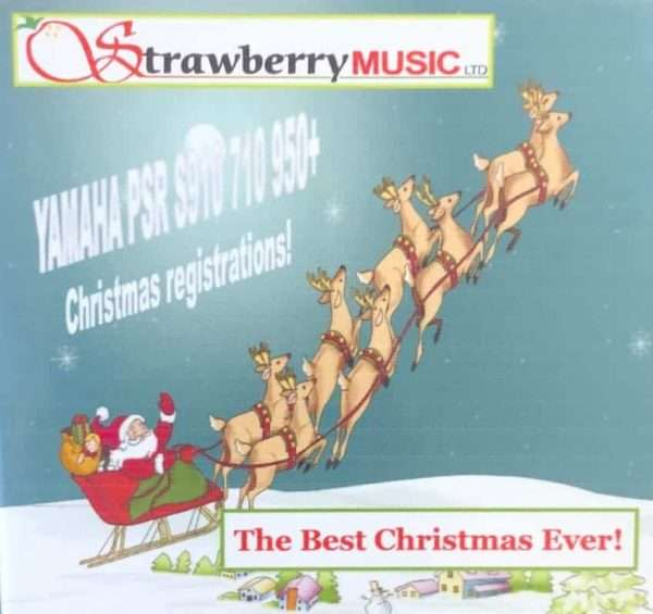 The Best Christmas Ever! USB - PSR S910 710 950+ - Strawberry Music