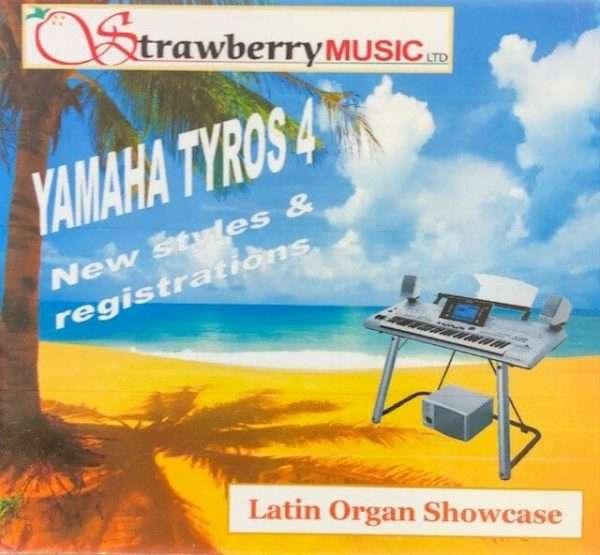 Latin Organ Showcase USB - Tyros 4 - Strawberry Music