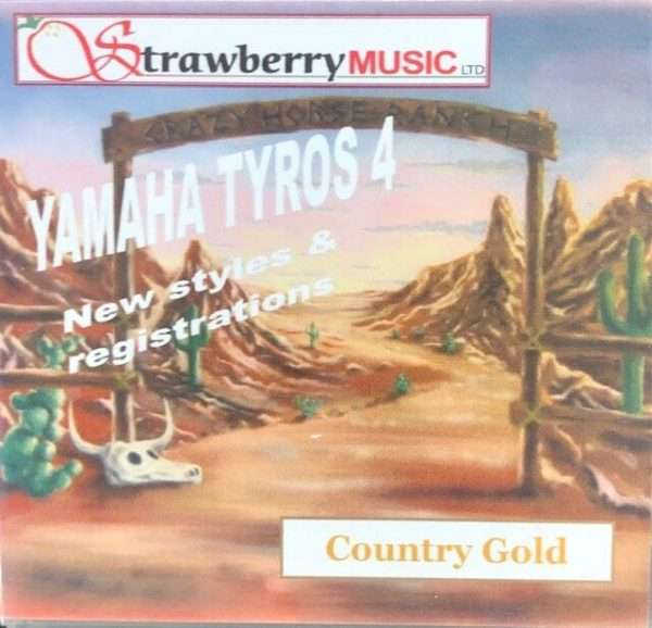 Country Gold USB - Tyros 4 - Strawberry Music
